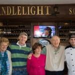 Phyllis, George, Kathy, Jack & Chef Dustin Muir