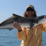 Capt. James with a Cobia